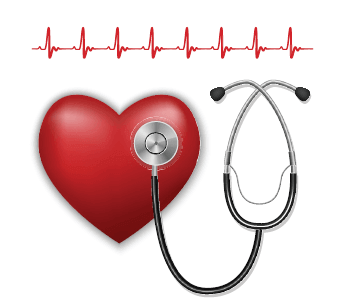 heart and stethoscope clip art